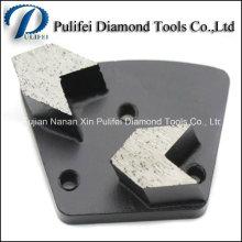 Tampon de meulage en métal d'outil de rénovation de plancher en pierre de marbre de granit