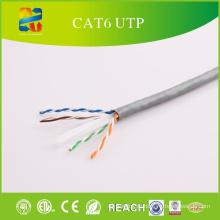 Сетевой кабель цветового кода UTP категории 6 с ETL