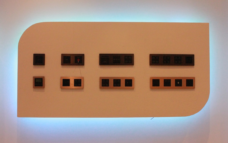 Hotel Wall Light Switch and Sockets
