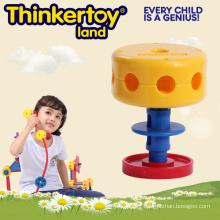 Open End Building Block Toy pour les enfants en chaise Forme
