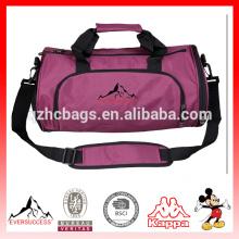 Ombro saco de ginástica bolsa grande amante de viagens Messenger Sports bag para ginásio