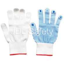 Luva de nylon com PVC pontilhada Palm (S5103)