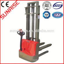 Empilhador elétrico do empilhador MBD-100/16 do empilhador econômico do poder da bateria 1ton 1600mm