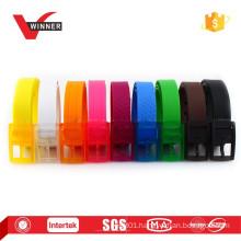 2015 Fashion silicone rubber belt