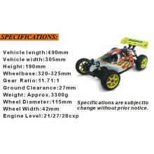 Hsp94081 1/8 Nitro off Road RC 4X4 Buggy para la venta