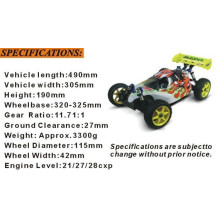 Hsp94081 1/8 Nitro off Road RC 4X4 Buggy for Sale