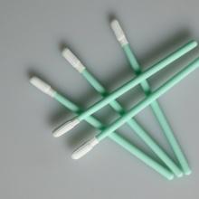 Cotonete de poliéster compatível com vareta de PP verde TX743