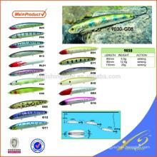 MNL064 60mm / 80mm / 110mm vib isca de pesca de pesca de plástico isca de metal estamparia iscas de pesca