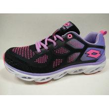 4 colores personalizados de las mujeres de peso ligero con zapatos de running