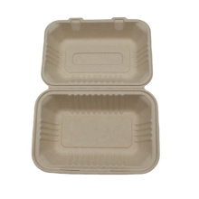 Cheap Price Biodegradable Sugarcane Bagasse Take Out Plate Food Container