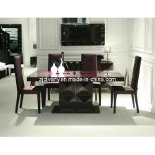 Moderne brillant haute peinture Table à manger en bois (LS-201 a)