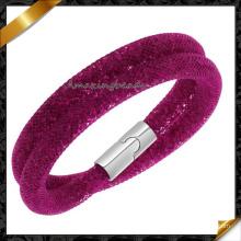 Hot Sale Stardust Mesh Bracelets de mode avec pierres de cristal Bracelet magnétique rempli Bracelets de charme Bracelets (FB0129)