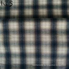 Tela teñida del hilado del popelín de algodón 100% para las camisas / el vestido Rlsc40-46