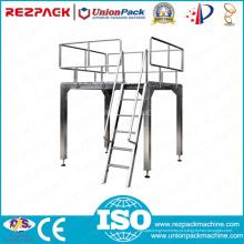 Верхняя рабочая платформа из нержавеющей стали для упаковочной машины (упаковочная линия)