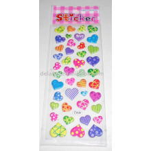 3D puffy phone sticker