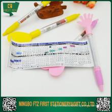 2 in 1 Advertising Cute Calendar Pen