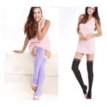 Женщины похудения Спящая нога чулки до колен длинные носки (SR8225)