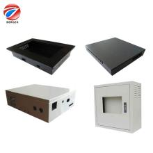 gabinete de computador em chapa de aço inoxidável personalizada