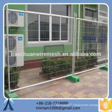 reasonable price Australia hot-dipped galvanized PVC coated welded temporary fence (exporter)