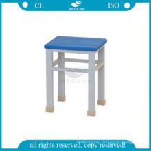 AG-NS003 Economic color option nurse seats chair hospital rectangular small stools