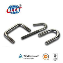 High Quality Special Fasteners U J Bolt with Galvanized