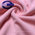 Tissu 100 en polyester à mailles en nid d'abeille à séchage rapide pour vêtements de sport