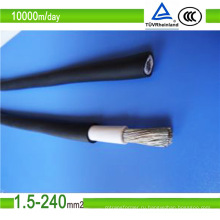 Одобренный TUV 4 мм2 кабель для солнечных панелей DC Solar Cble (4,0 мм2)