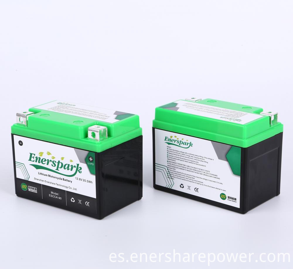 12v Lithium Starting Battery for Motorcycle