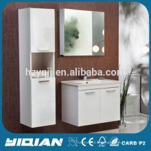 Gabinete superior de cerâmica com gabinete de gabinete de medicina espelho Armário de banheiro moderno de suspensão de MDF