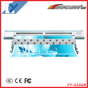 Solvent Inkjet Printer Fy-3266r with Seiko Spt1020/35pl Print Head