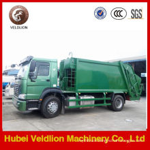 Sinotruk HOWO 4X2 Refuse Compactor Truck 12cubic (12M3)