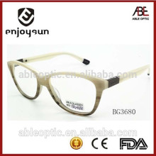 Mujeres ópticas de las gafas del acetato de la manera con CE y FDA