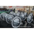 Stainless Steel U Section Butterfly Valve
