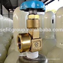 CGA 540 valve with regulator for Medical oxygen gas cylinder