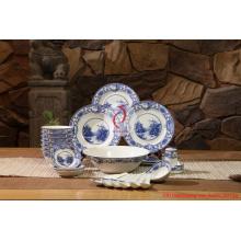 Jingdezhen Porcelana e Cerâmica / Bone China Louça / Presentes Bowl Dish Suits