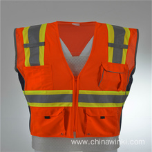 High visibility Surveyor Reflective Vest