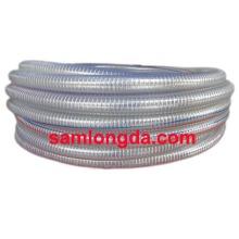 PVC reforçado com fio de aço PVC, mangueira de PVC, reforçar a mangueira