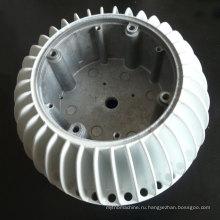 Высокое качество светодиодный алюминиевый профиль ISO литья алюминиевый корпус для светодиодная Лампа