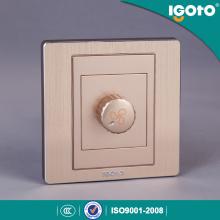 Saso British Standard Electrical Fan Speed Control Wall Switch