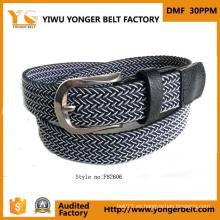 Fancy Cinturón tejido tejido a la medida para el hombre para la venta