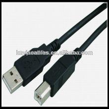 Câble d'imprimante HP USB 2.0 haute qualité AB 9 '(3 m)