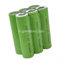 Le lithium ion rechargeable li batterie 11, 1V 5600mAh