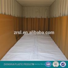 Flexitank 24KL para líquidos em massa no recipiente de 20ft, saco do flexitank 16000-24000L