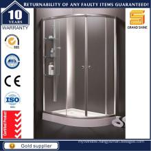 Italian 90X90 Cheap Economic Compact Bath Enclosed Glass Shower Cabin