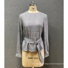 women`s round neck blouse