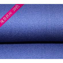 Королевский синий труда одежда полиэстер хлопок Twill ткани