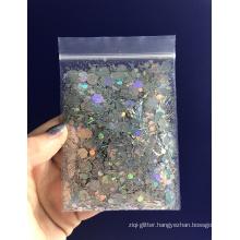 Mixed color chunky glitter,cosmetic chunky glitter,body glitter