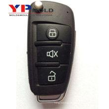 Molde plástico da injeção do preço razoável da qualidade super do OEM para o escudo chave do carro