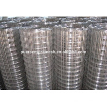 Material de alambre de hierro de bajo carbono y tipo de malla soldada Acoplamiento de alambre soldado galvanizado en rollos