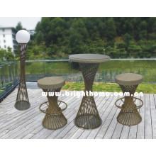 Muebles al aire libre / silla giratoria de la barra (BP-913)